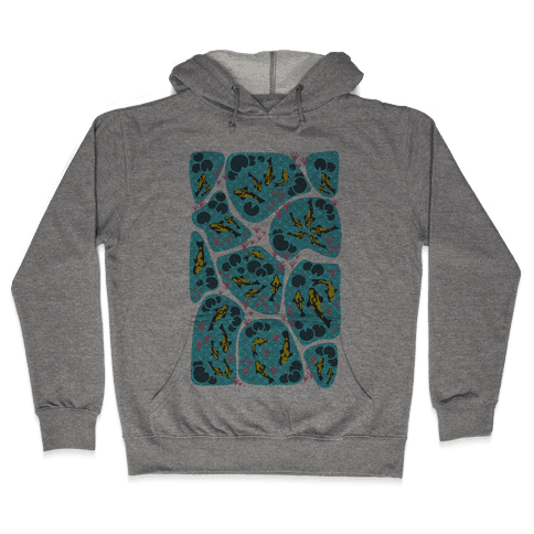 Koi Ponds Hooded Sweatshirt