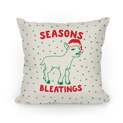 Seasons Bleatings Pillow