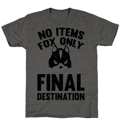 No Items Fox Only Final Destination Mens T-Shirt