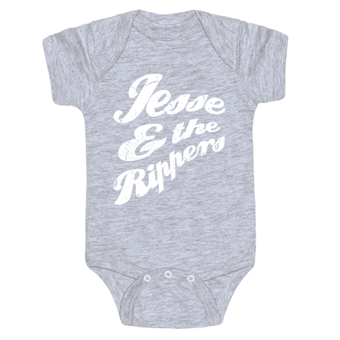 Jesse & The Rippers Baby Onesy