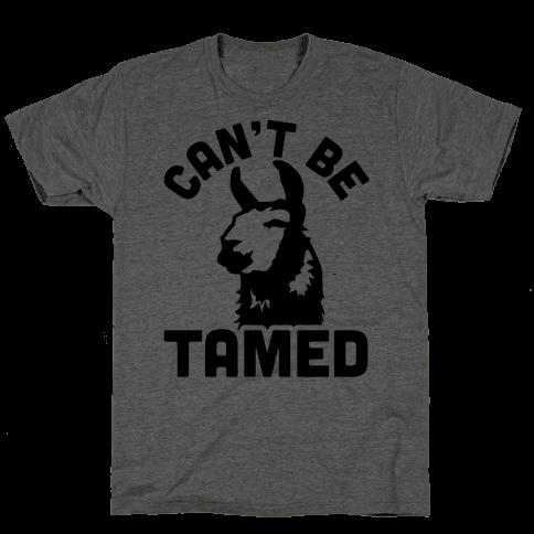 Can't Be Tamed Run Away Llama
