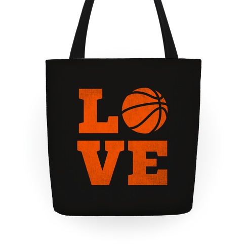 Love Basketball Tote Tote
