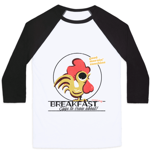 The Most Important Meal of the Day! Baseball Tee