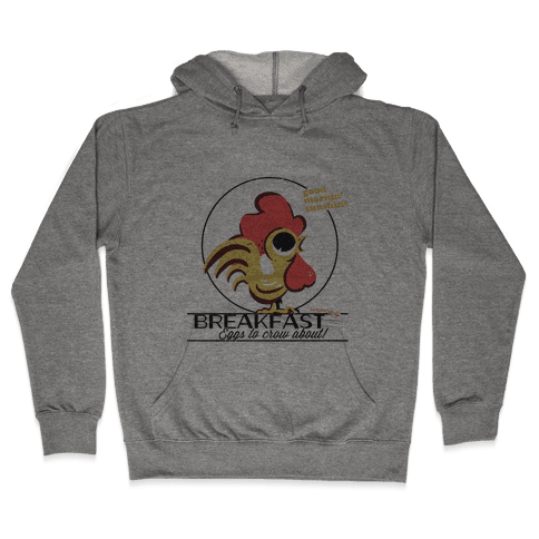 The Most Important Meal of the Day! Hooded Sweatshirt