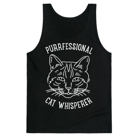 Purrfessional Cat Whisperer Tank Top