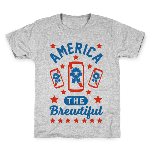 America The Brewtiful Kids T-Shirt