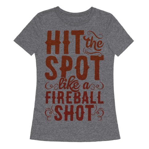 Hit The Spot Like A Fireball Shot
