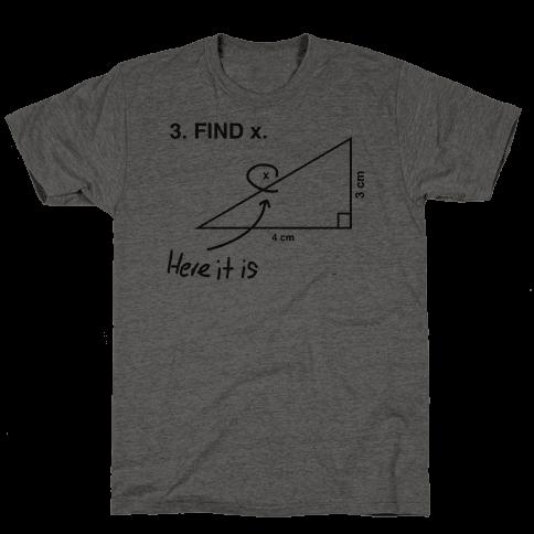 Find X Mens T-Shirt