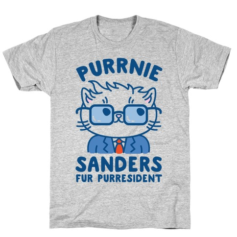 Purrnie Sanders Fur Purresident T-Shirt