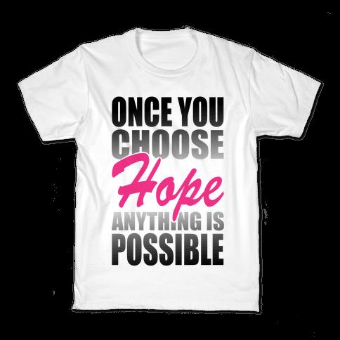 Choose Hope Kids T-Shirt