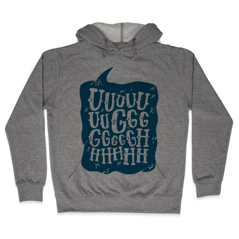 Ugh Speech Bubble Hooded Sweatshirt