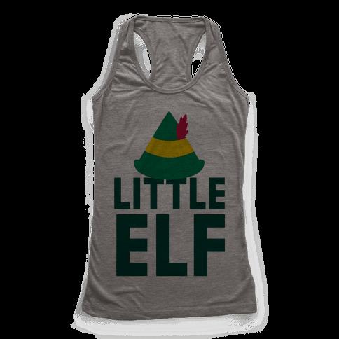 Little Elf Racerback Tank Top