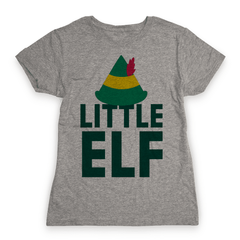 Little Elf Womens T-Shirt
