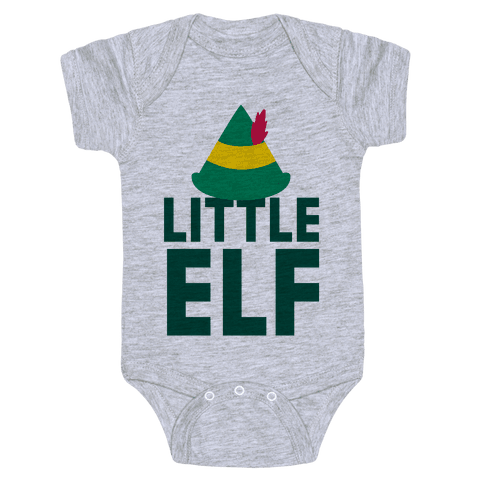 Little Elf Baby Onesy