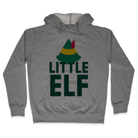 Little Elf Hooded Sweatshirt