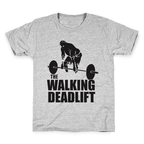 Walking Deadlift Kids T-Shirt