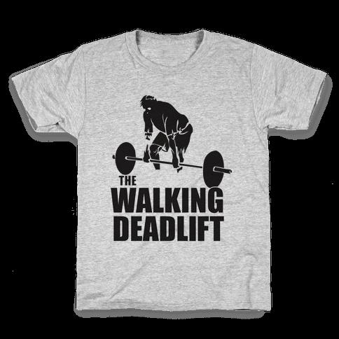 Walking Deadlift Kids T-Shirt