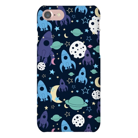 Rocket Space Pattern Phone Case