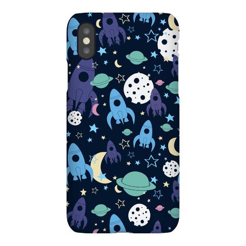 Rocket Space Pattern Phone Case