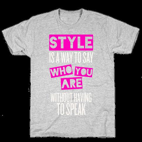 Style Mens T-Shirt