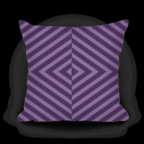 Purple Diagonal Stripe Pattern