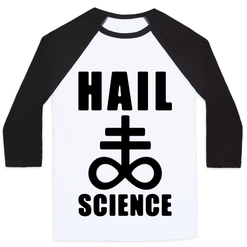 Hail Science Baseball Tee