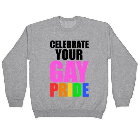 Celebrate Gay Pride Pullover