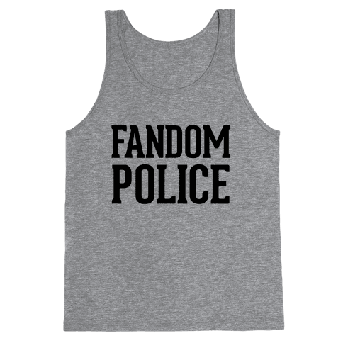 Fandom Police Tank Top