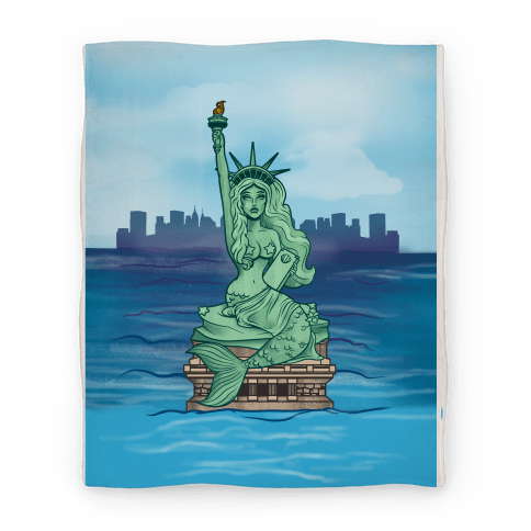 Statue of Liberty Mermaid