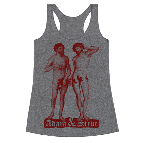 Adam and Steve Racerback Tank Top
