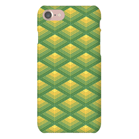 Radiant Fish Scale Pattern Phone Case