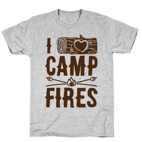 I Log Campfires T-Shirt