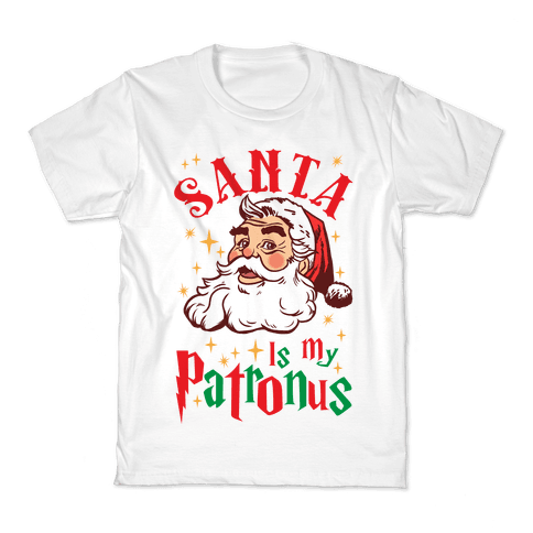 Santa Is My Patronus Kids T-Shirt
