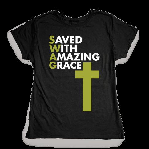 Swag Jesus Swag Womens T-Shirt