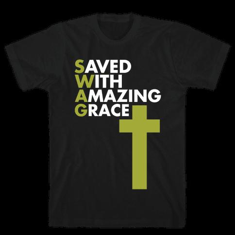 Swag Jesus Swag Mens T-Shirt