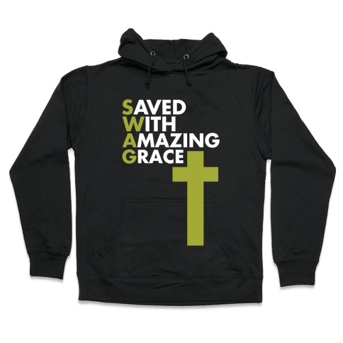 Swag Jesus Swag Hooded Sweatshirt
