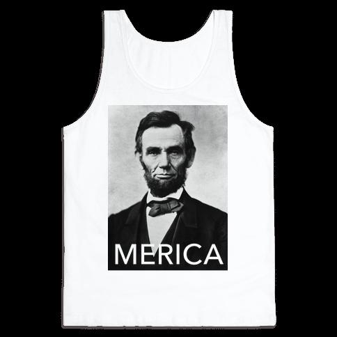 Lincoln's Merica Tank Top