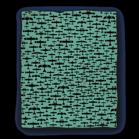 Porco Rosso Fleet Blanket Blanket