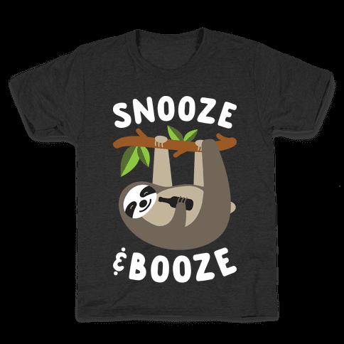 Snooze & Booze Kids T-Shirt