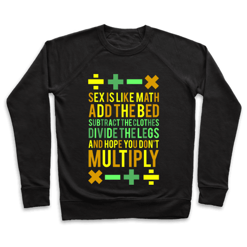 Sex is Math (dark) Pullover