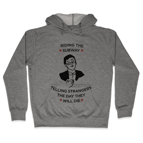 Drunk Nate Silver Hooded Sweatshirt