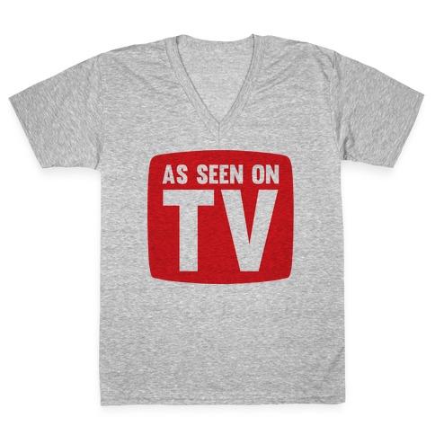 As Seen On TV V-Neck Tee Shirt