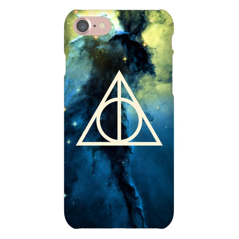 The Deathly Hallows In Space Phone Case
