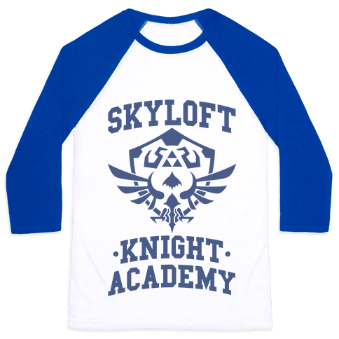 Skyloft Knight Academy Baseball Tee