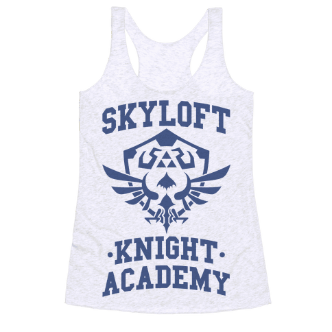 Skyloft Knight Academy Racerback Tank Top