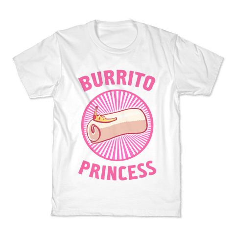 Burrito Princess Kids T-Shirt