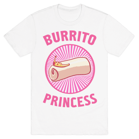 Burrito Princess Mens T-Shirt