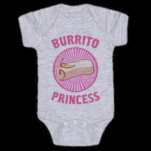 Burrito Princess Baby Onesy