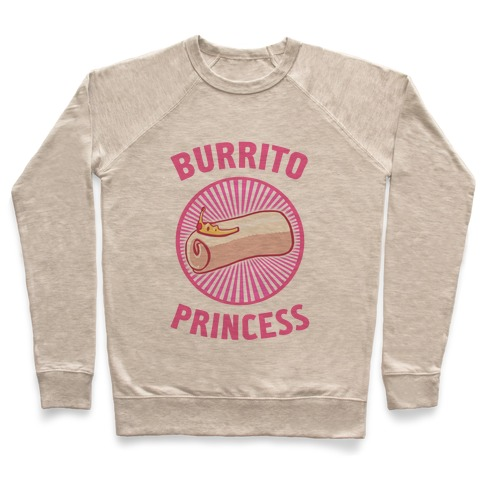 Burrito Princess Pullover