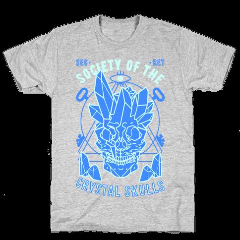 Society Of The Crystal Skulls Mens T-Shirt